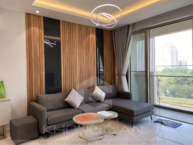 Phòng khách căn hộ Phú Mỹ Hưng Midtown Căn hộ Phú Mỹ Hưng Midtown nội thất sang trọng, hiện đại, view nội khu