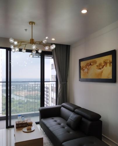 Không gian căn hộ Vinhomes Grand Park , Quận 9 Căn hộ tầng cao Vinhomes Grand Park view thành phố, đầy đủ nội thất.