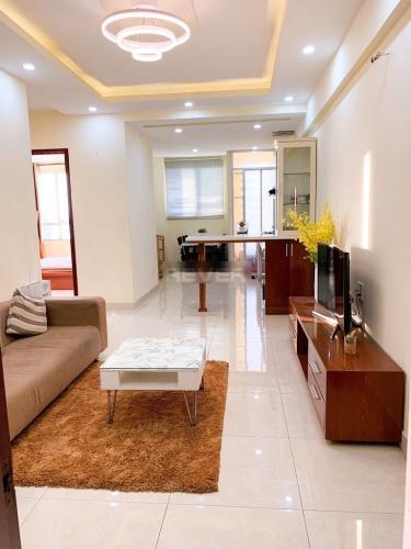 Căn hộ chung cư Bông Sao tầng 10 cửa hướng Tây Nam, view thoáng mát.