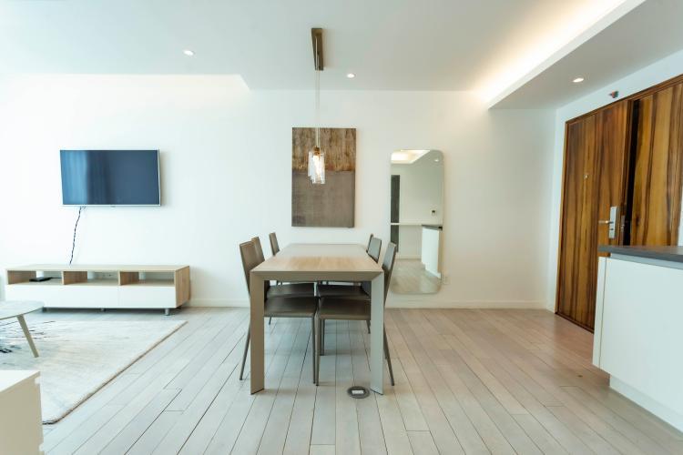 Căn hộ tầng 15 Léman Luxury Apartments 2 phòng ngủ, đầy đủ nội thất.