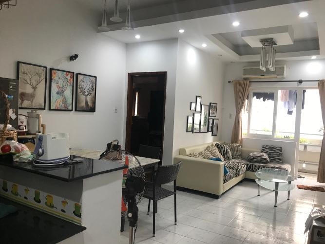 Căn hộ chung cư Vạn Đô tầng 10 view thoáng mát, đầy đủ nội thất.