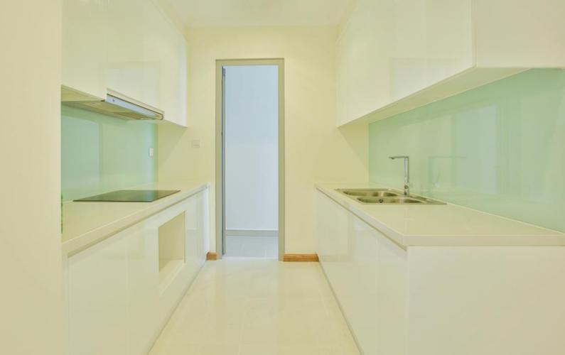 Phòng bếp căn hộ Vinhomes Grand Park Căn hộ Vinhomes Central Park tầng cao nội thất cơ bản, 4 phòng ngủ.