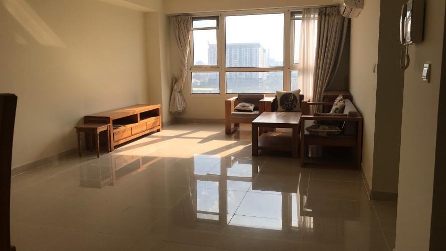 Phòng khách căn hộ The Eastern, Quận 9 Căn hộ The Eastern tầng cao đầy đủ nội thất tiện nghi, hướng Đông Nam.