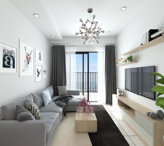 Căn hộ The Sun Avenue tầng 22 cửa hướng Đông Nam, đầy đủ nội thất.