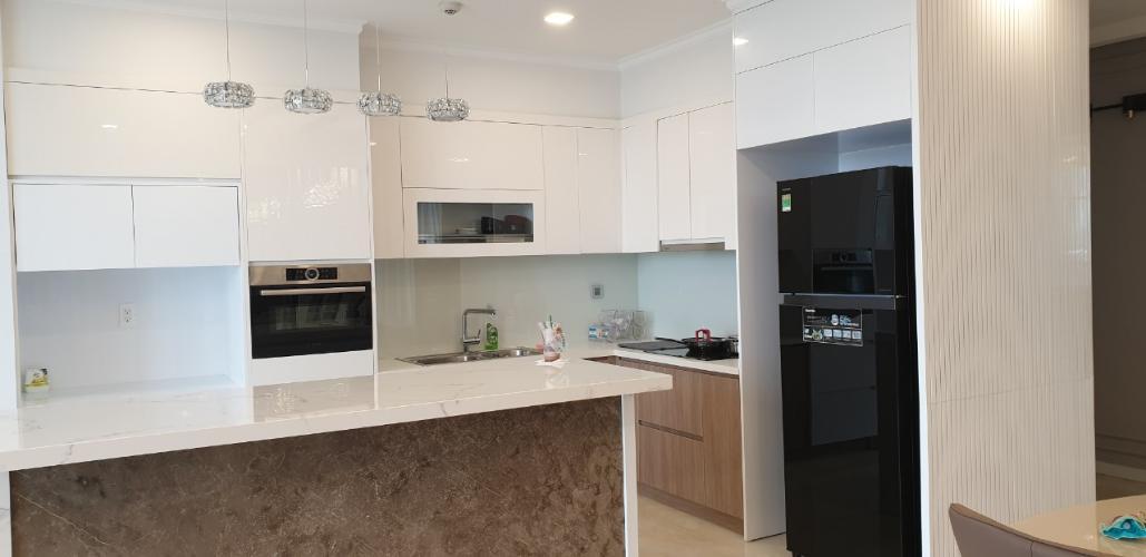 phòng bếp Vinhomes Golden River Căn hộ Vinhomes Golden River tầng trung, nội thất đầy đủ