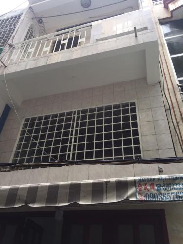 Bán nhà phố 2 tầng, đường hẻm Đoàn Văn Bơ, phường 9, quận 4, diện tích đất 20.9m2, sổ hồng đầy đủ.