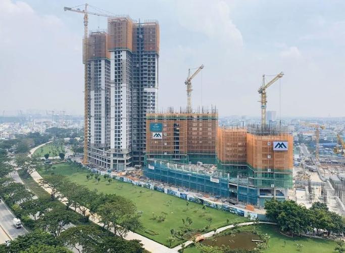 Tiến độ xây dựng dự án Eco Green Saigon Căn hộ Eco Green Saigon thiết kế hiện đại, mặt tiền đường Nguyễn Văn Linh.