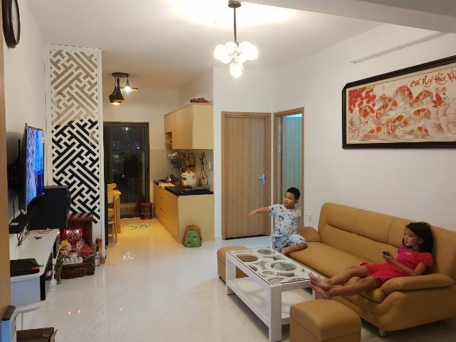 Bán căn hộ Tecco Central Home tầng trung view đẹp, 2 phòng ngủ, diện tích 63.92m2, nội thất cơ bản