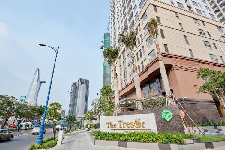 Tòa nhà căn hộ The Tresor Căn hộ tháp TS1 The Tresor, 3 phòng ngủ view nội khu yên tĩnh.