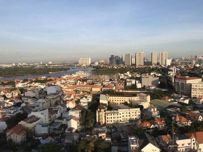 View Tropic Garden, quận 2 Căn hộ Tropic Garden tầng cao đón view thành phố và sông.