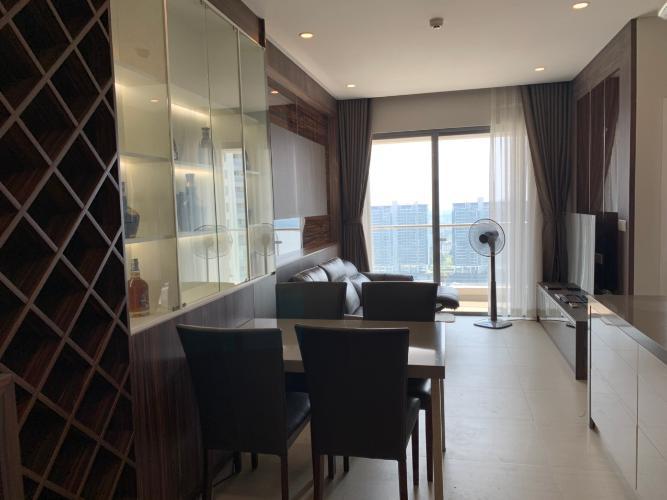 PHÒNG ĂN căn hộ Diamond Island Căn hộ Diamond Island đầy đủ nội thất sang trọng, view thành phố.