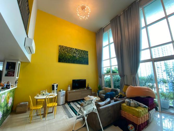 Bán căn hộ Duplex The Krista Apartment thuộc tháp T1, 4 phòng ngủ, diện tích 198.35m2, đầy đủ nội thất