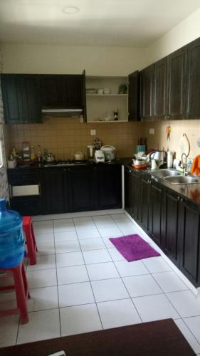 Phòng bếp căn hộ An Phú Apartment, Quận 6 Căn hộ An Phú Apartment tầng 14 view thoáng mát, nội thất cơ bản.