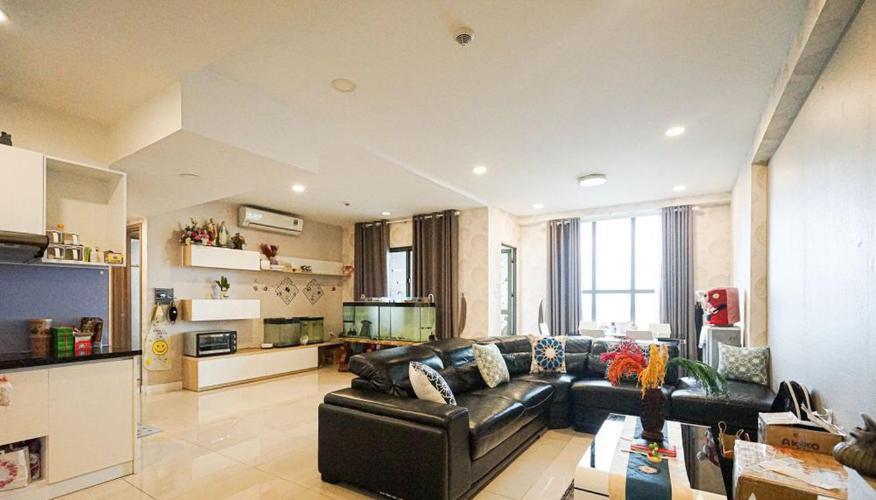 Bán căn hộ tầng cao ICON 56, view thành phố, nội thất đầy đủ.
