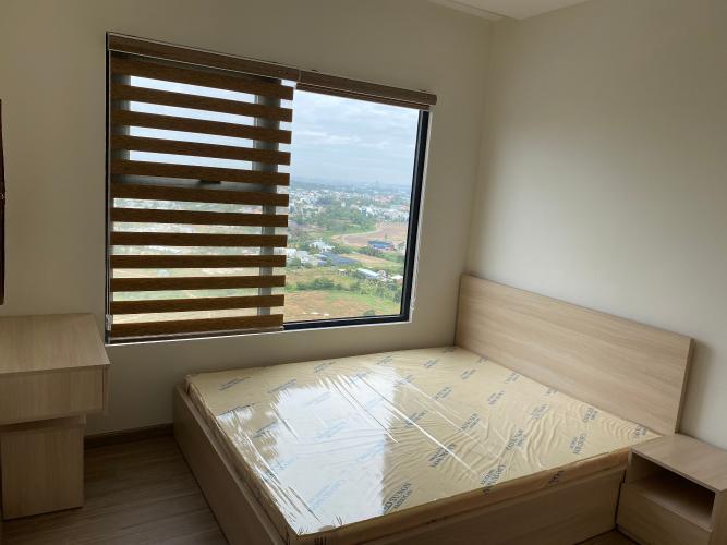 Phòng ngủ Vinhomes Grand Park Quận 9 Căn hộ Vinhomes Grand Park tầng cao, view thành phố cùng sông.