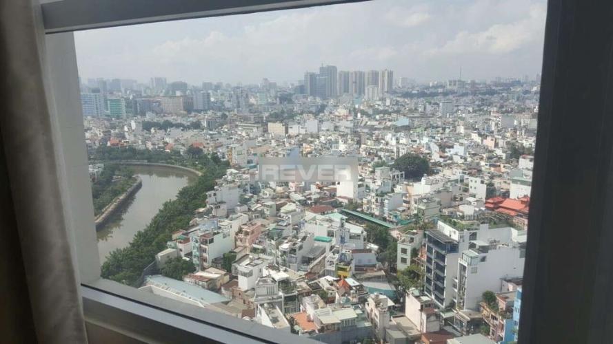 View Căn hộ The Prince Residence, Phú Nhuận Căn hộ The Prince Residence nội thất đầy đủ, view thành phố thoáng mát