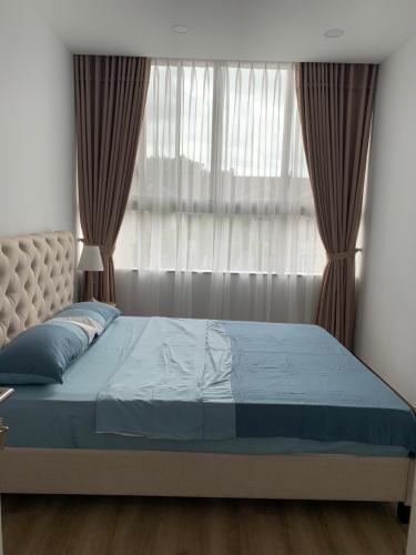 Phòng ngủ Phú Mỹ Hưng Midtown Căn hộ Phú Mỹ Hưng Midtown tầng cao, view sông và thành phố mát mẻ.