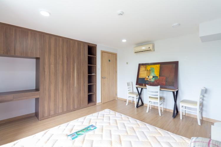 Phòng ngủ căn hộ La Astoria  quận 2 Căn hộ tầng thấp La Astoria có tầng lửng view sông thoáng mát.