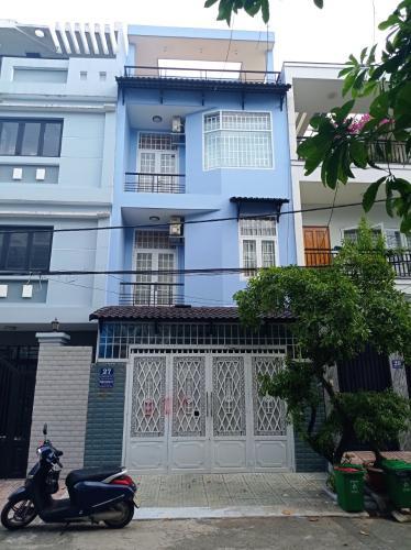 Nhà phố tại KDC Sông Đà kết cấu 1 trệt 3 lầu kiên cố, không nội thất.