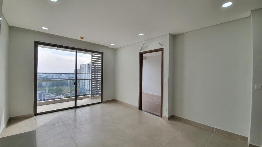 Phòng khách căn hộ River Panorama, Quận 7 Căn hộ River Panorama nội thất cơ bản, view tầng cao đón gió mát.