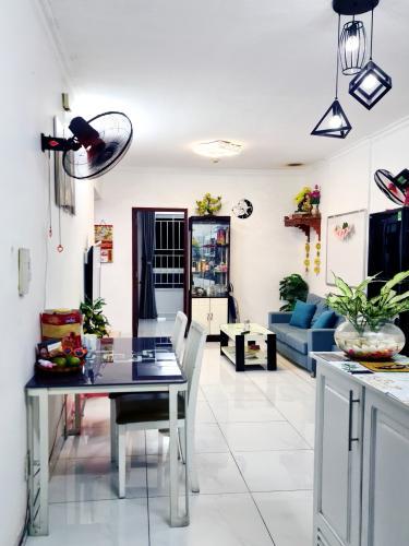 Căn hộ Thái An Apartment hướng Tây Nam, nội thất cơ bản.