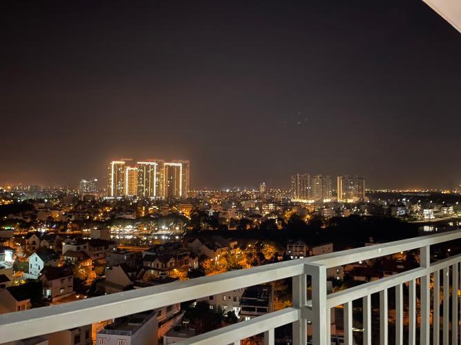 view cảnh căn hộ The Sun Avenue Cho thuê căn hộ The Sun Avenue, view thành phố thoáng mát, ở ngay.