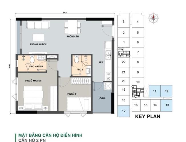 Căn hộ tầng 12 Picity High Park thiết kế sang trọng, nội thất cơ bản.