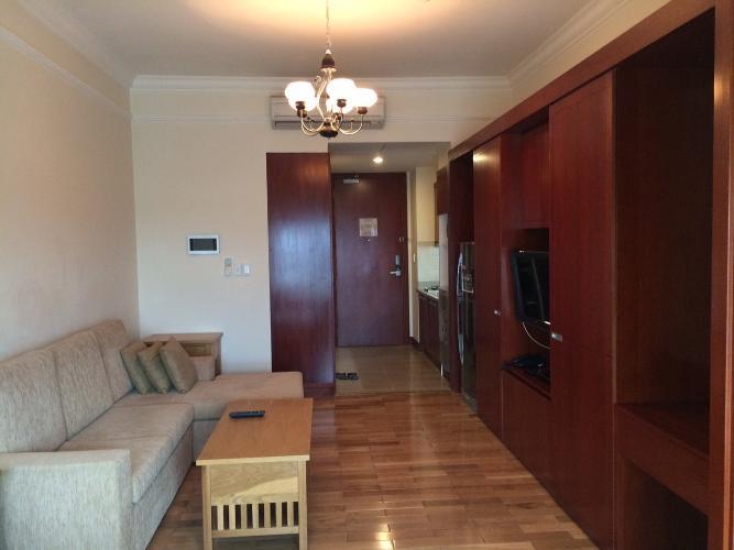 Căn hộ cao cấp tầng trung The Manor nội thất đầy đủ.