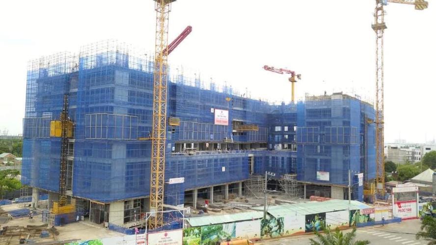 tiến độ xây dựng căn hộ Ricca Căn hộ Ricca nội thất cơ bản, gam màu trắng chủ đạo.