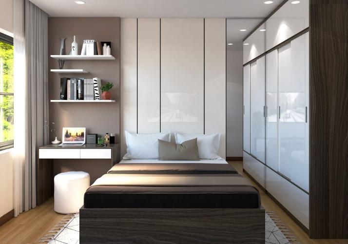 Nhà mẫu Bcons Miền Đông Căn hộ Bcons Miền Đông tầng trung, nội thất cơ bản.
