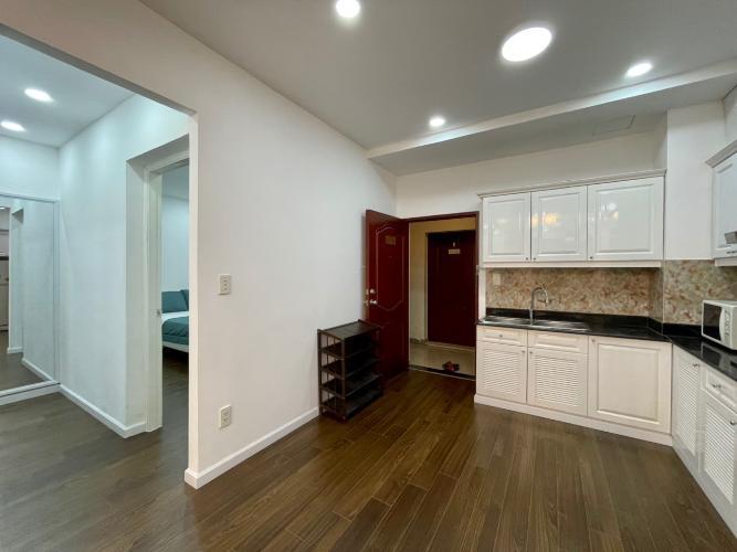 Phòng bếp căn hộ Sky Garden 3, Quận 7 Căn hộ Sky Garden 3 tầng 4 view nội khu thoáng đãng, đầy đủ nội thất.