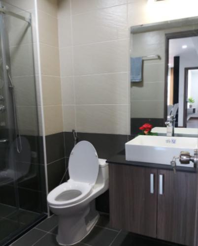Phòng tắm Cosmo City, Quận 7 Căn hộ Cosmo City đầy đủ nội thất, ban công hướng Đông Nam.