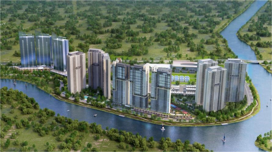 dự án căn hộ Palm City Shophouse Palm Residences diện tích 96m2, kinh doanh quán cafe thuận tiện