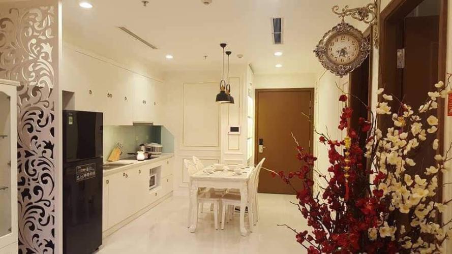 phòng bếp căn hộ Vinhomes Central Park Căn hộ tháp Landmark 4 tầng 30 Vinhomes Central Park nội thất đầy đủ