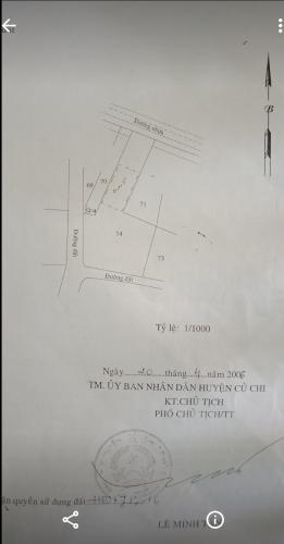 Bản vẽ đất nền Huyện Củ Chi Đất nền mặt tiền đường Số 11, diện tích 300m2  cách cầu vượt Củ Chi 50m.