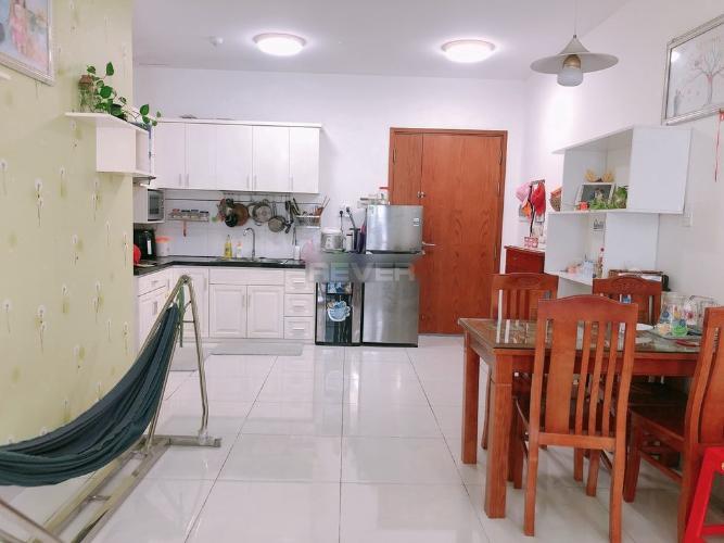 Phòng bếp Tara Residence, Quận 8 Căn hộ Tara Residence tầng trung, ban công view nội khu.