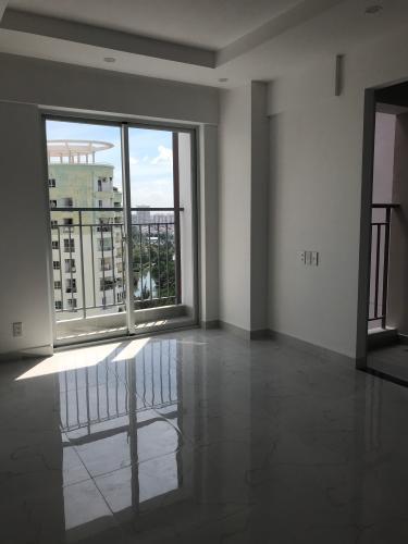 Phòng khách căn hộ Conic Riverside, Quận 8 Căn hộ Conic Riverside hướng cửa Tây Bắc, nội thất cơ bản.