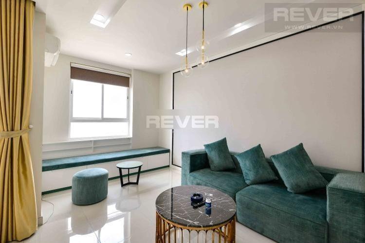 Căn hộ Grand Riverside tầng 20 view thoáng mát, nội thất đầy đủ.