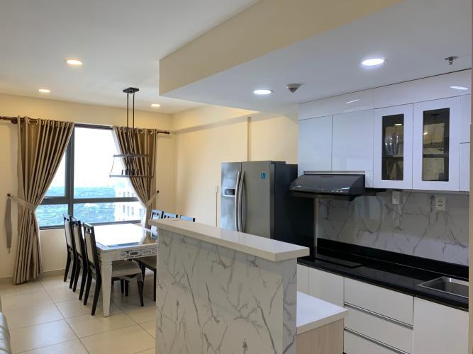 Phòng bếp căn hộ Masteri Thảo Điền, Quận 2 Căn hộ Masteri Thảo Điền tầng cao, đón view thành phố tuyệt đẹp.