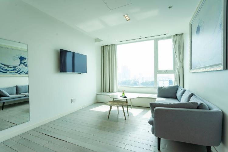 Phòng khách , Căn hộ Léman Luxury Apartment , Quận 3 Căn hộ Léman Luxury Apartments ban công hướng Đông Nam, đầy đủ nội thất.