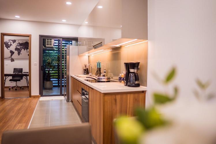Căn hộ Eco Green Saigon tầng 8 thiết kế hiện đại, nội thất cơ bản.