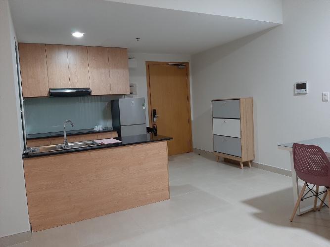 Phòng bếp căn hộ Masteri Thảo Điền, Quận 2 Căn hộ Masteri Thảo Điền tầng 9 view thoáng mát, nội thất đầy đủ.