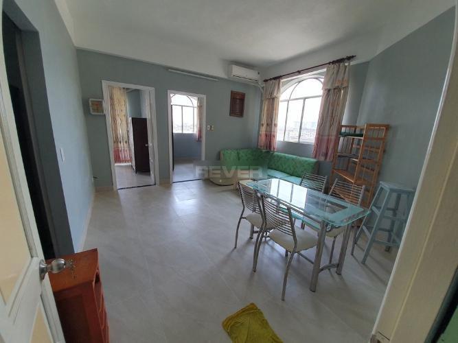 Căn hộ chung cư Hùng Vương đầy đủ nội thất, hướng Tây.