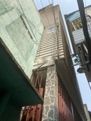 Nhà phố Q.Phú Nhuận hướng Tây Nam diện tích 40.5m2, nội thất cơ bản.