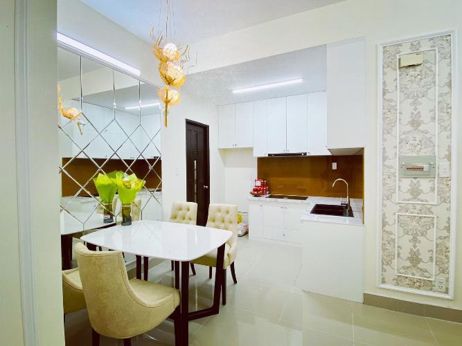 Phòng bếp Võ Đình Apartment, Quận 12 Căn hộ Võ Đình Apartment ban công hướng Tây, đầy đủ nội thất.