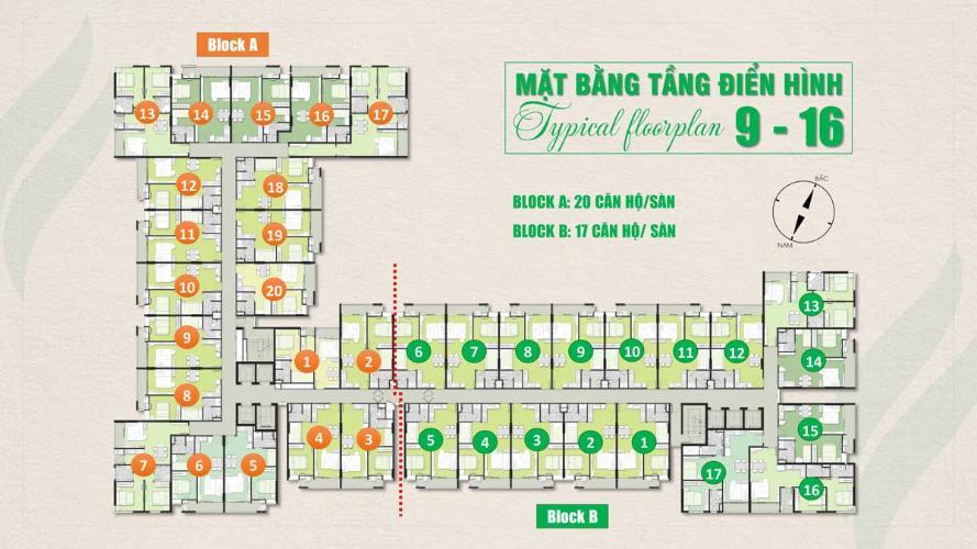 Mặt bằng Ricca, Quận 9 Căn hộ Ricca tầng 10 thiết kế gam trắng sang trọng, nội thất cơ bản.