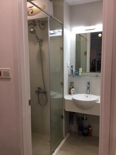 Phòng tắm căn hộ Saigon Mia Căn hộ Saigon Mia bàn giao đầy đủ nội thất, view thành phố.