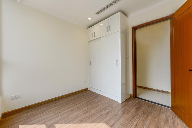 phòng ngủ căn hộ Vinhomes Central Park Căn hộ Vinhomes Central Park tầng trung, nội thất cơ bản
