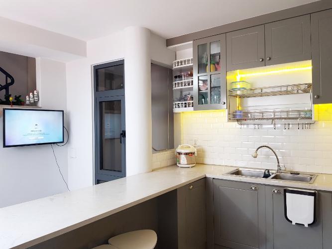 Phòng bếp nhà phố Quận Phú Nhuận Nhà phố Q.Phú Nhuận hướng Tây Nam diện tích sử dụng 167m2, có sổ đỏ.