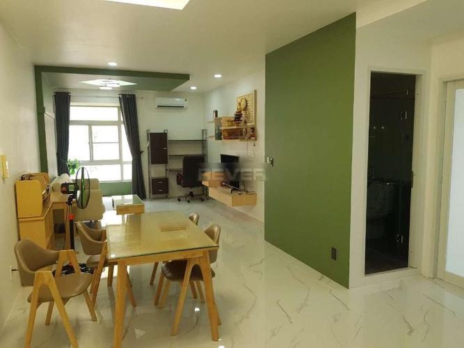 Căn hộ Sky Garden thiết kế hiện đại, bàn giao đầy đủ nội thất.